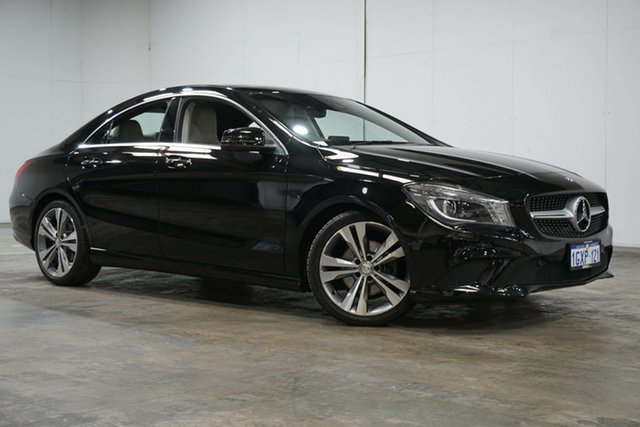 Used Mercedes-Benz CLA-Class C117 806MY CLA200 DCT, 2016 Mercedes-Benz CLA-Class C117 806MY CLA200 DCT Black 7 Speed Sports Automatic Dual Clutch Coupe