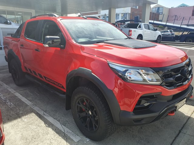 Demo Holden Special Vehicles Colorado RG MY20 SportsCat Pickup Crew Cab SV, 2019 Holden Special Vehicles Colorado RG MY20 SportsCat Pickup Crew Cab SV Absolute Red 6 Speed
