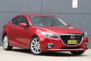 2014 Mazda 3 BM5238 SP25 SKYACTIV-Drive GT Soul Red 6 Speed Sports Automatic Sedan.