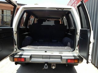 1992 Holden Jackaroo UBS XS White 4 Speed Automatic Wagon