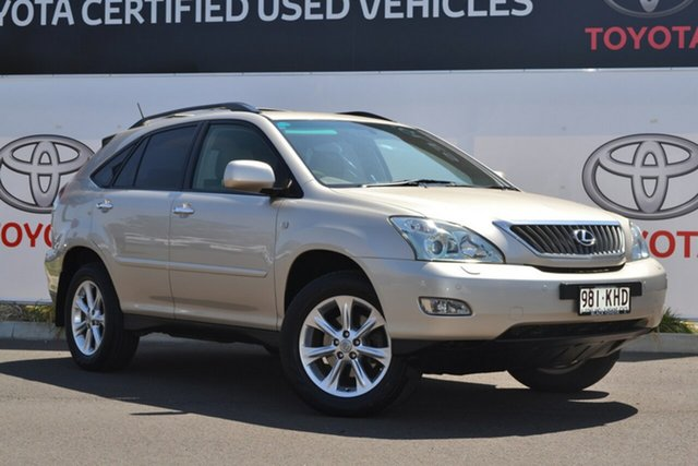 Used Lexus RX350 GSU35R 07 Upgrade Sports Luxury, 2007 Lexus RX350 GSU35R 07 Upgrade Sports Luxury Gold 5 Speed Sequential Auto Wagon