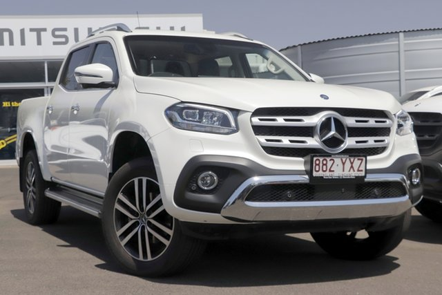 Used Mercedes-Benz X-Class 470 X250d 4MATIC Power, 2018 Mercedes-Benz X-Class 470 X250d 4MATIC Power White 6 Speed Manual Utility