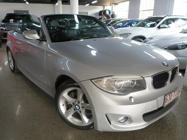 Used BMW 1 Series E88 LCI MY0312 120i Steptronic, 2012 BMW 1 Series E88 LCI MY0312 120i Steptronic Silver 6 Speed Sports Automatic Convertible