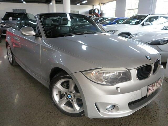 Used BMW 1 Series E88 LCI MY0312 120i Steptronic, 2012 BMW 1 Series E88 LCI MY0312 120i Steptronic Silver 6 Speed Sports Automatic Convertible