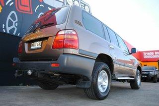 1999 Toyota Landcruiser FZJ105R GXL Bronze Metallic 4 Speed Automatic Wagon