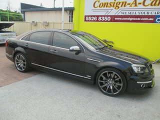 2012 Holden Special Vehicles Grange WM Series 3 MY12.5 Black 6 Speed Sports Automatic Sedan.