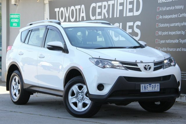 Used Toyota RAV4 ASA44R MY14 GX AWD, 2015 Toyota RAV4 ASA44R MY14 GX AWD Glacier White 6 Speed Sports Automatic Wagon