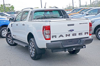 2019 Ford Ranger PX MkIII 2019.00MY Wildtrak Pick-up Double Cab Arctic White 10 Speed.
