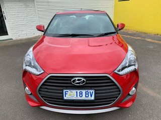 2015 Hyundai Veloster FS4 Series II SR Coupe D-CT Turbo + Veloster Red 7 Speed.