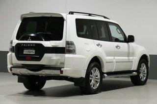 2018 Mitsubishi Pajero NX MY19 Exceed LWB (4x4) 7 Seat White 5 Speed Auto Sports Mode Wagon