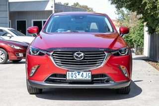 2017 Mazda CX-3 DK2W7A Akari SKYACTIV-Drive Red 6 Speed Sports Automatic Wagon