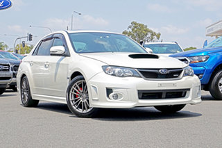 2013 Subaru Impreza G3 MY13 WRX AWD White 5 Speed Manual Sedan.