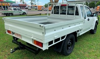 2009 Holden Colorado RC LX Space Cab White 5 Speed Manual Cab Chassis.