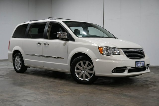 Used Chrysler Grand Voyager RT 5th Gen MY13 Limited, 2013 Chrysler Grand Voyager RT 5th Gen MY13 Limited White 6 Speed Automatic Wagon