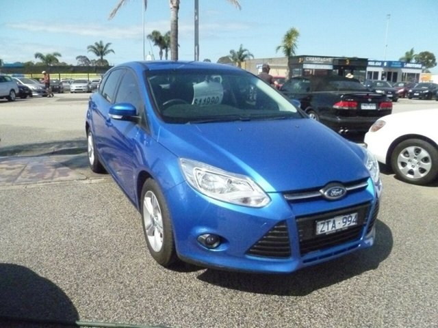 Used Ford Focus LW MkII MY14 Trend PwrShift, 2014 Ford Focus LW MkII MY14 Trend PwrShift Blue 6 Speed Sports Automatic Dual Clutch Hatchback