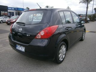 2006 Nissan Tiida C11 ST Black 4 Speed Automatic Hatchback