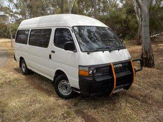 1993 Toyota HiAce LH125R Commuter Super LWB 5 Speed Manual Bus.