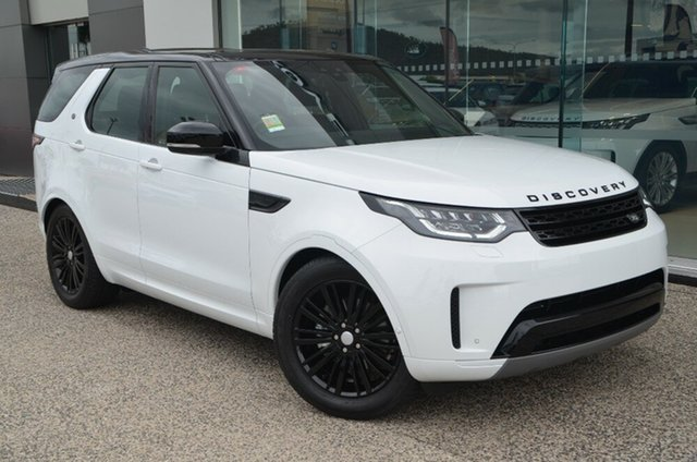 Demo Land Rover Discovery Series 5 L462 MY19 SD4 SE, 2018 Land Rover Discovery Series 5 L462 MY19 SD4 SE Fuji White 8 Speed Sports Automatic Wagon