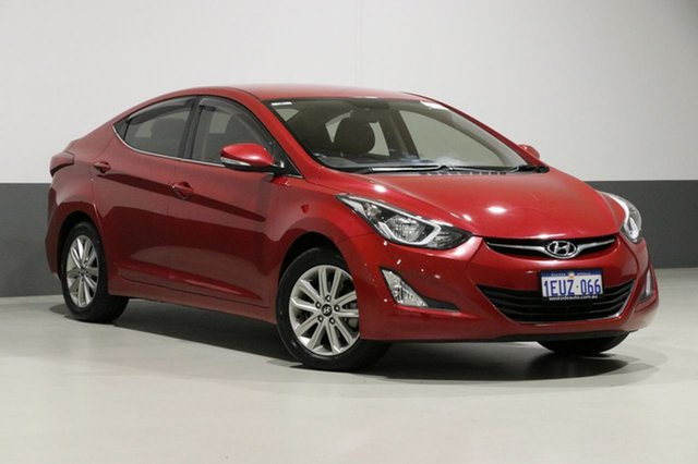 Used Hyundai Elantra MD Series 2 (MD3) Trophy, 2014 Hyundai Elantra MD Series 2 (MD3) Trophy Red 6 Speed Automatic Sedan