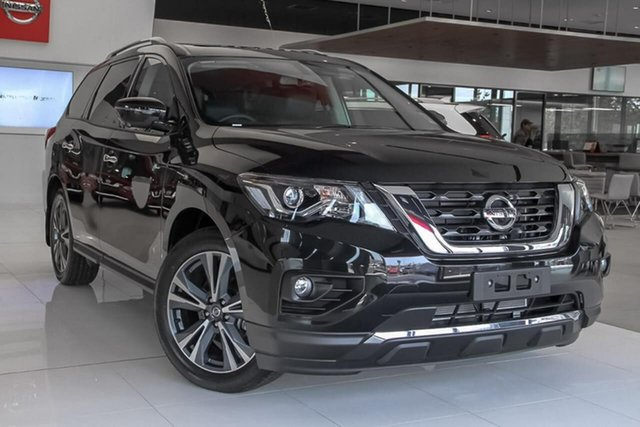 New Nissan Pathfinder R52 Series III MY19 Ti X-tronic 2WD, 2019 Nissan Pathfinder R52 Series III MY19 Ti X-tronic 2WD Diamond Black 1 Speed Constant Variable