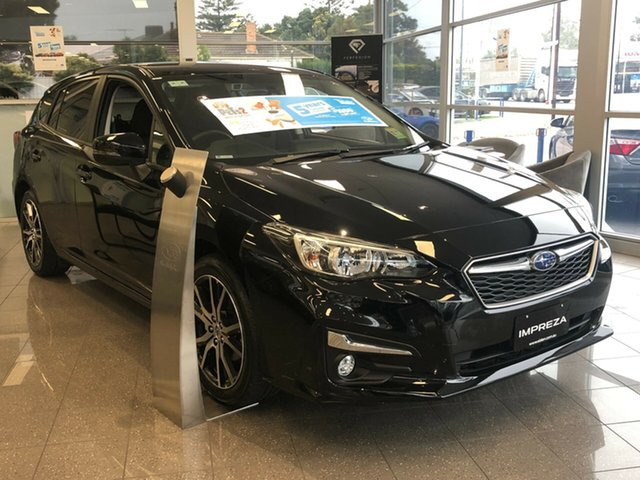 New Subaru Impreza G5 MY19 2.0i-L CVT AWD, 2019 Subaru Impreza G5 MY19 2.0i-L CVT AWD Crystal Black 7 Speed Constant Variable Hatchback