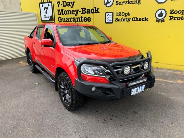 Used Holden Colorado RG MY17 LS Pickup Crew Cab, 2016 Holden Colorado RG MY17 LS Pickup Crew Cab Absolute Red 6 Speed Sports Automatic Utility