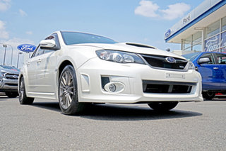 2013 Subaru Impreza G3 MY13 WRX AWD White 5 Speed Manual Sedan