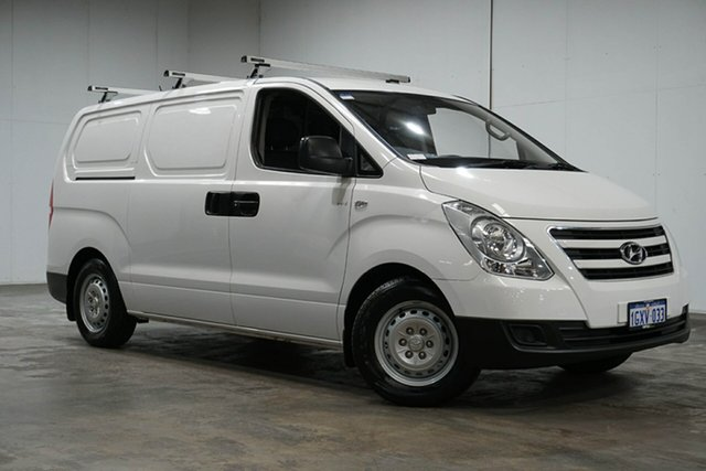 Used Hyundai iLOAD TQ3-V Series II MY17 Crew Cab, 2017 Hyundai iLOAD TQ3-V Series II MY17 Crew Cab White 5 Speed Automatic Van