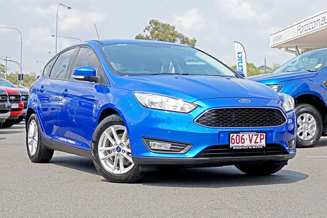 Used Ford Focus LZ Trend, 2015 Ford Focus LZ Trend Blue 6 Speed Automatic Hatchback