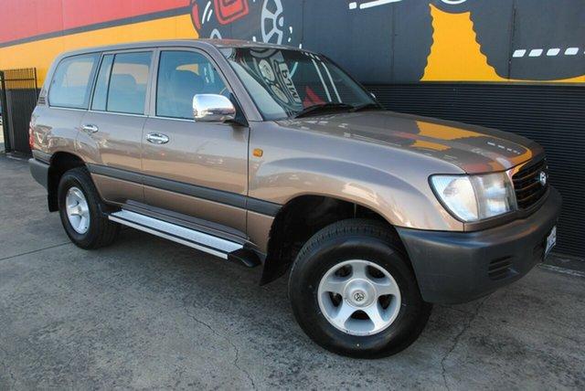 Used Toyota Landcruiser FZJ105R GXL, 1999 Toyota Landcruiser FZJ105R GXL Bronze Metallic 4 Speed Automatic Wagon