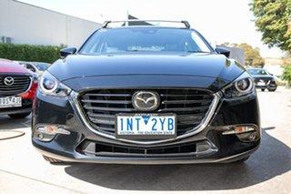 2018 Mazda 3 BN5438 SP25 SKYACTIV-Drive Astina Black 6 Speed Sports Automatic Hatchback
