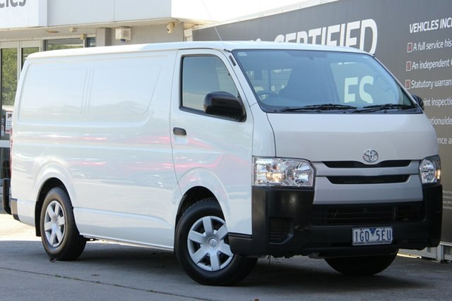 Used Toyota HiAce KDH201R LWB, 2015 Toyota HiAce KDH201R LWB French Vanilla 4 Speed Automatic Van