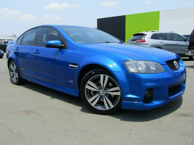 Used Holden Commodore VE II SS, 2010 Holden Commodore VE II SS Blue 6 Speed Automatic Sedan