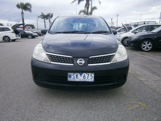 2006 Nissan Tiida C11 ST Black 4 Speed Automatic Hatchback.