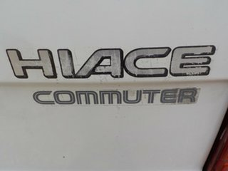 1993 Toyota HiAce LH125R Commuter Super LWB 5 Speed Manual Bus