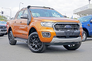 2018 Ford Ranger PX MkIII 2019.00MY Wildtrak Pick-up Double Cab Saber 10 Speed Sports Automatic.