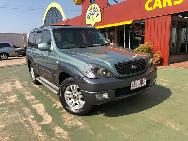 Used Hyundai Terracan HP MY05 , 2005 Hyundai Terracan HP MY05 4 Speed Automatic Wagon