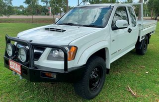 2009 Holden Colorado RC LX Space Cab White 5 Speed Manual Cab Chassis