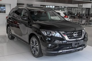 2019 Nissan Pathfinder R52 Series III MY19 Ti X-tronic 2WD Diamond Black 1 Speed Constant Variable.