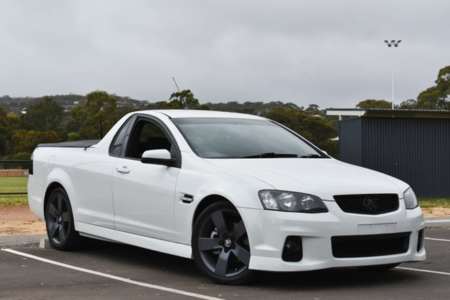 Used Holden Ute VE II SS Thunder, 2012 Holden Ute VE II SS Thunder White 6 Speed Sports Automatic Utility