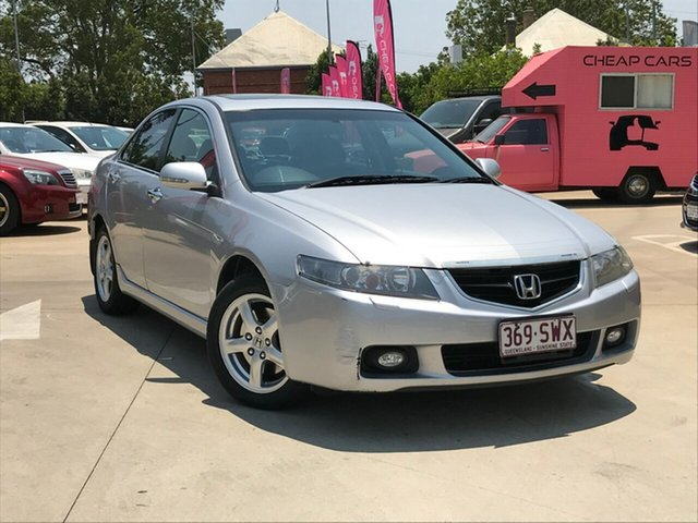 Used Honda Accord Euro CL Luxury, 2004 Honda Accord Euro CL Luxury Silver 5 Speed Automatic Sedan
