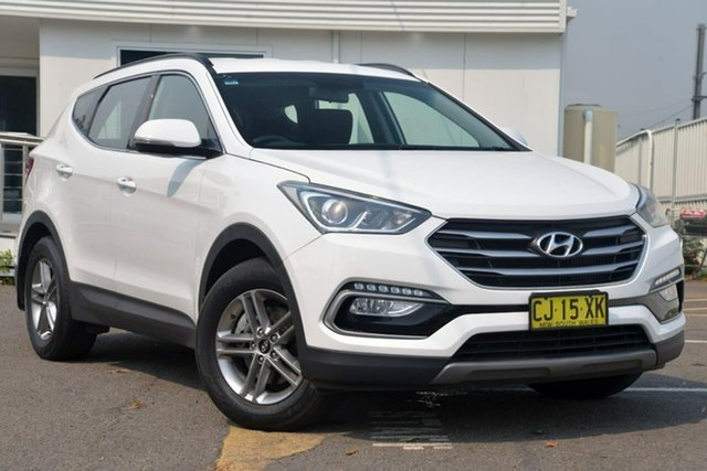 Used Hyundai Santa Fe DM3 MY17 Active, 2017 Hyundai Santa Fe DM3 MY17 Active White 6 Speed Sports Automatic Wagon