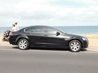2008 Holden Calais VE MY08.5 Black 5 Speed Sports Automatic Sedan.