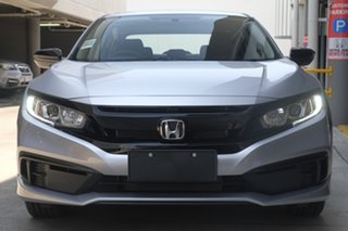 2019 Honda Civic 10th Gen MY19 50 Years Edition Lunar Silver 1 Speed Constant Variable Sedan