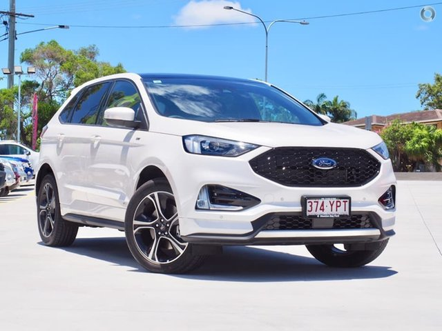 Used Ford Endura CA 2019MY ST-Line SelectShift AWD, 2018 Ford Endura CA 2019MY ST-Line SelectShift AWD White Platinum 8 Speed Sports Automatic Wagon