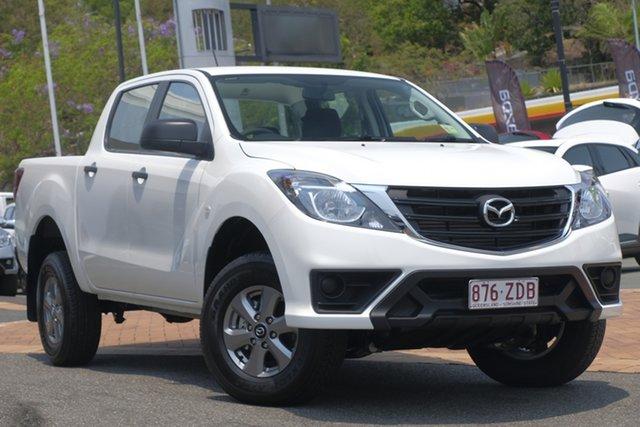Demo Mazda BT-50 UR0YG1 XT, 2019 Mazda BT-50 UR0YG1 XT Cool White 6 Speed Sports Automatic Utility