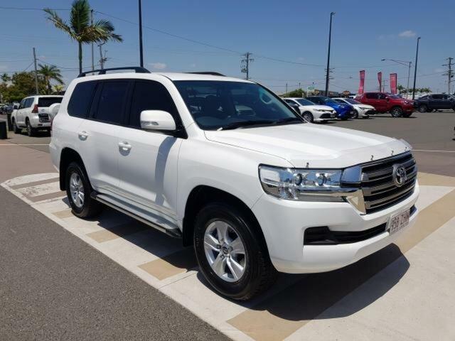 Used Toyota Landcruiser VDJ200R MY16 GXL (4x4), 2015 Toyota Landcruiser VDJ200R MY16 GXL (4x4) Glacier White 6 Speed Automatic Wagon