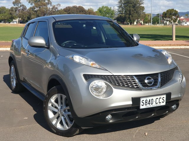 Used Nissan Juke F15 MY14 Ti-S AWD, 2013 Nissan Juke F15 MY14 Ti-S AWD Silver 1 Speed Constant Variable Hatchback