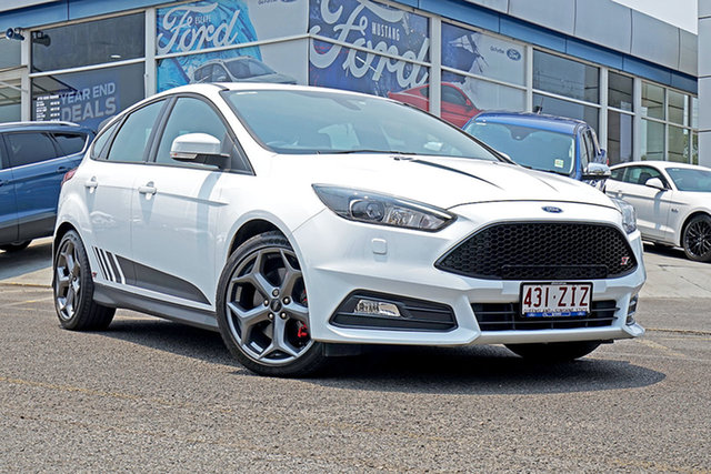 Used Ford Focus LZ ST, 2016 Ford Focus LZ ST White 6 Speed Manual Hatchback