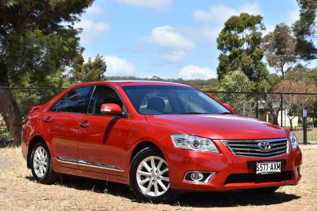 Used Toyota Aurion GSV40R Prodigy, 2009 Toyota Aurion GSV40R Prodigy Red 6 Speed Sports Automatic Sedan